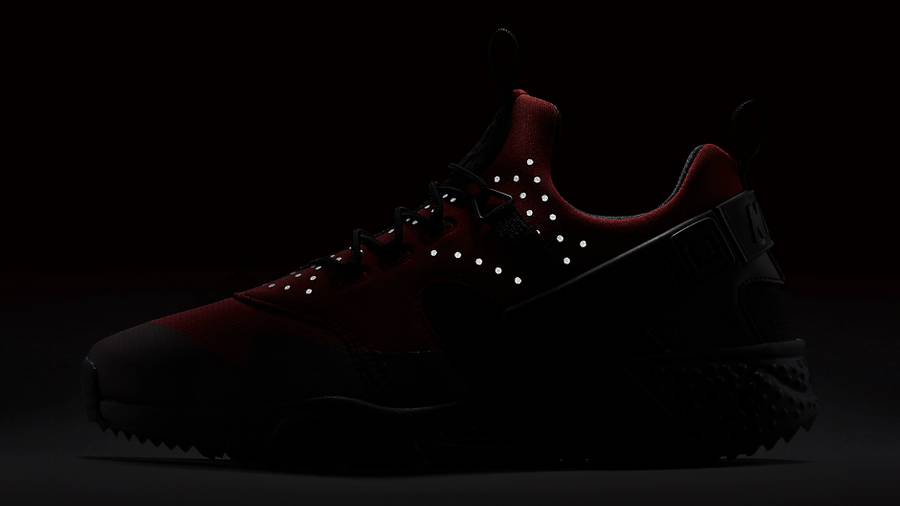 Nike Air Huarache Utility Red Black | Where To Buy | 806807-600 ...