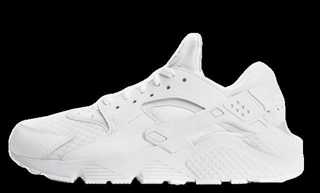 Nike Air Huarache Triple White | Where
