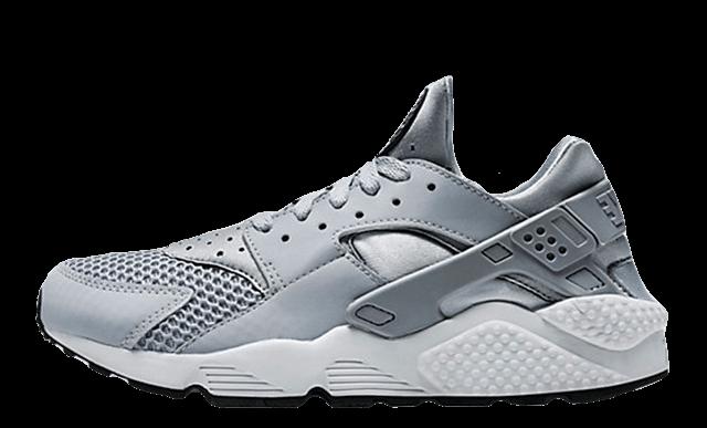 Nike Air Huarache White Wolf Grey