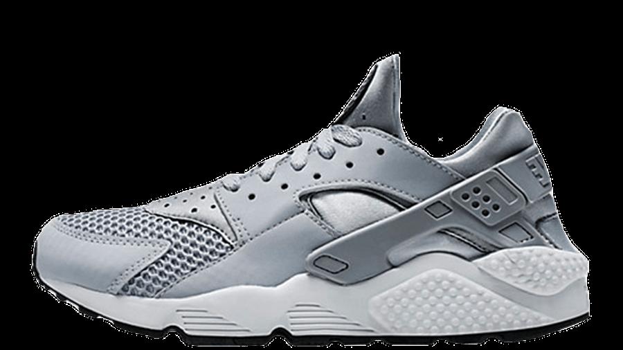 Nike Air Huarache White Wolf Grey | Where To Buy | 318429-014 ...