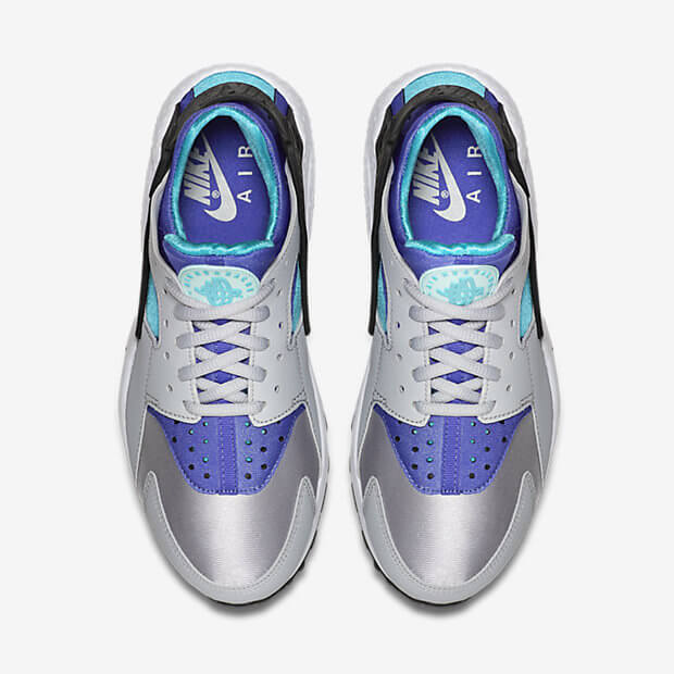 2018 shoes various colors classic Nike Air Huarache Womens Teal Grey - Where To Buy - 634835-008 ...