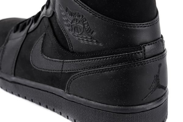 Black Nike AIR JORDAN