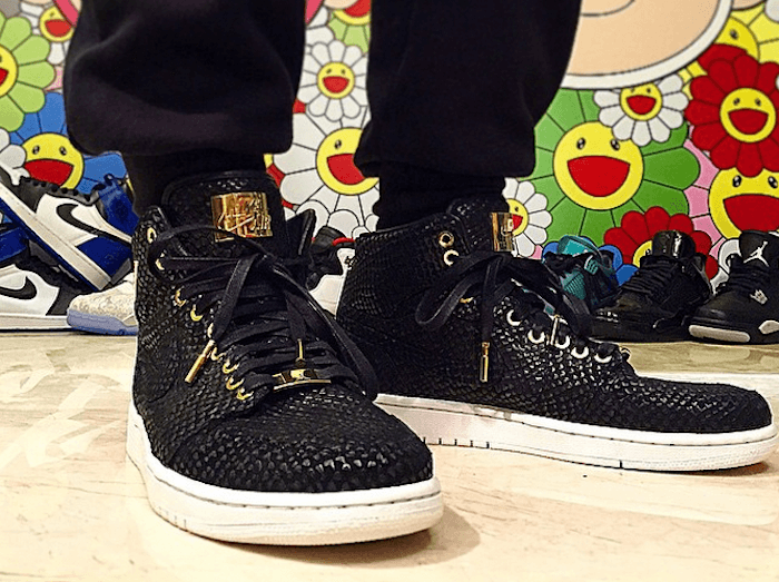 Nike Air Jordan 1 Pinnacle Black