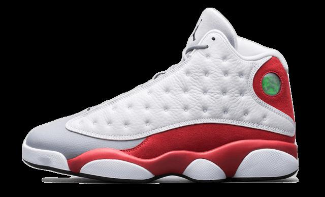 Nike Air Jordan 13 Retro Grey Toe