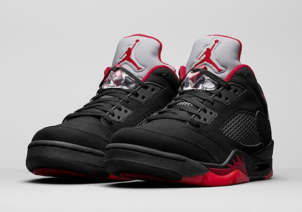 Nike Air Jordan 5 Low Alternate Black