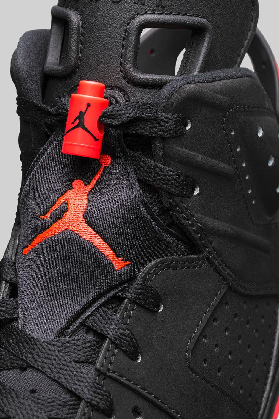 Buena suerte nadar Mareo  Nike Air Jordan 6 Retro Black Infrared | Where To Buy | 384664-023 | The  Sole Supplier