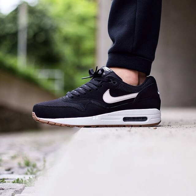 Nike Air Max 1 Essential Black Light Bone Where To Buy