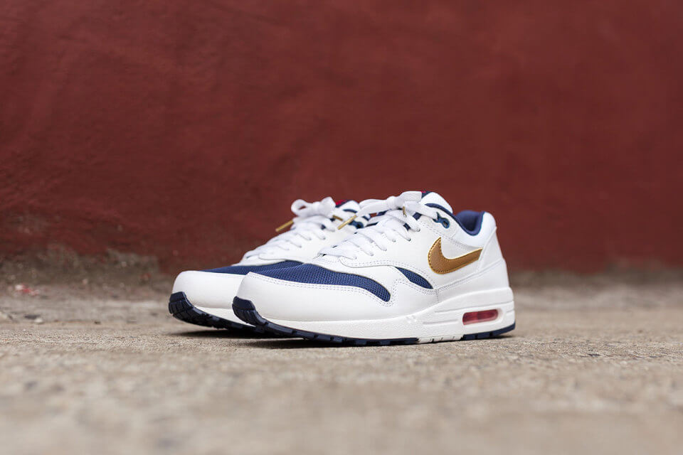 Nike Air Max 1 Essential Olympic Where To Buy 537383 127