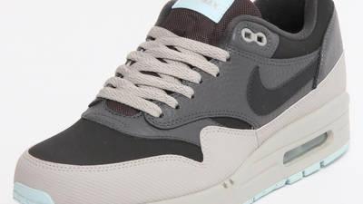 Nike Air Max 1 LTR Dark Ash | Where To Buy | 654466-201 | The Sole ...