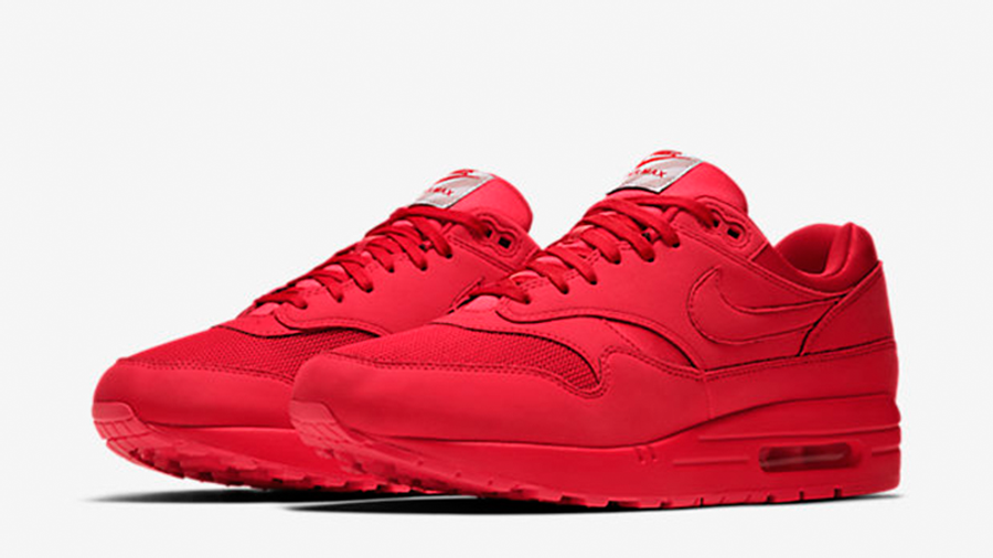 Nike Air Max 1 Premium Tonal Pack Red