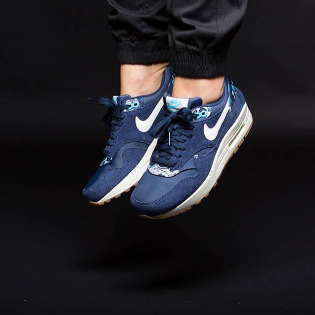 Nike Air Max 1 Print Midnight Navy