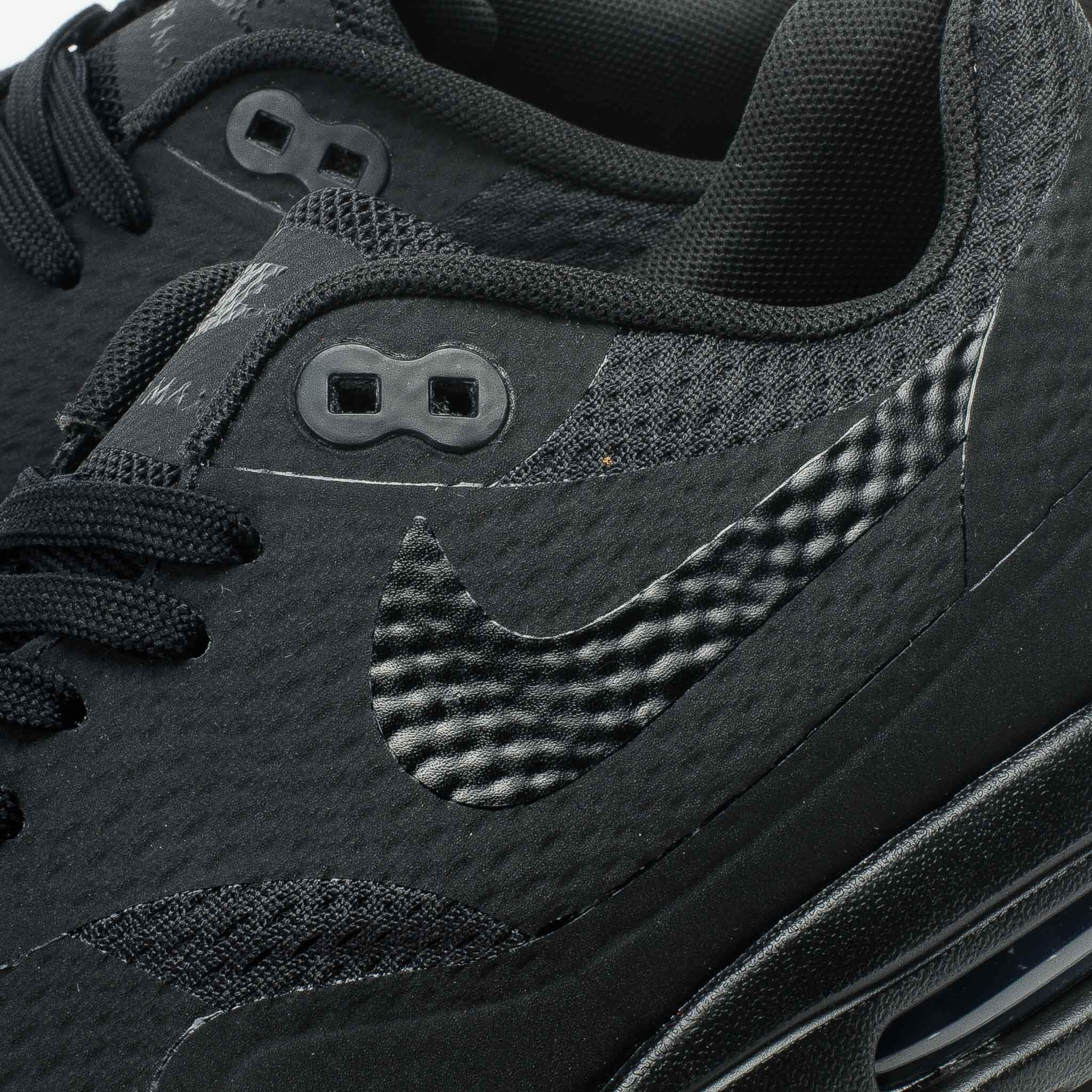Golpe fuerte pasaporte Delgado  Nike Air Max 1 Ultra Essential Triple Black | Where To Buy | 819476-001 |  The Sole Supplier