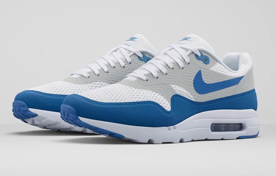 nike air max 1 essential blue 132127
