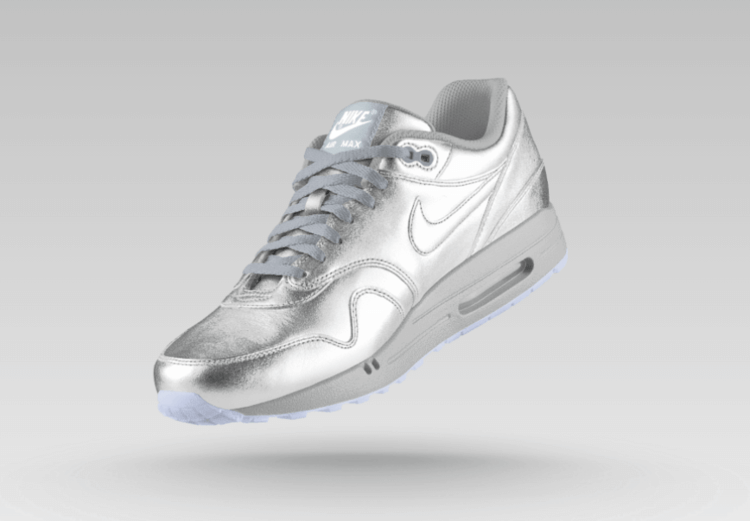 Nike | Air Max metallic leather