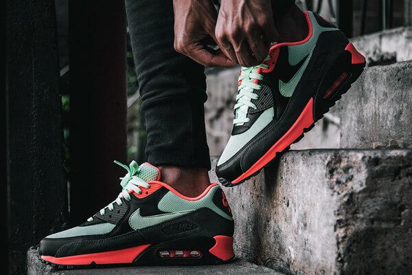 Nike Carbon Green Mens Footwear US 2017 Nike Air Max 90