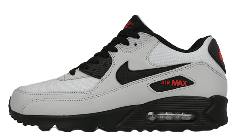 nike air max 90 essential wolf grey red Off 71%