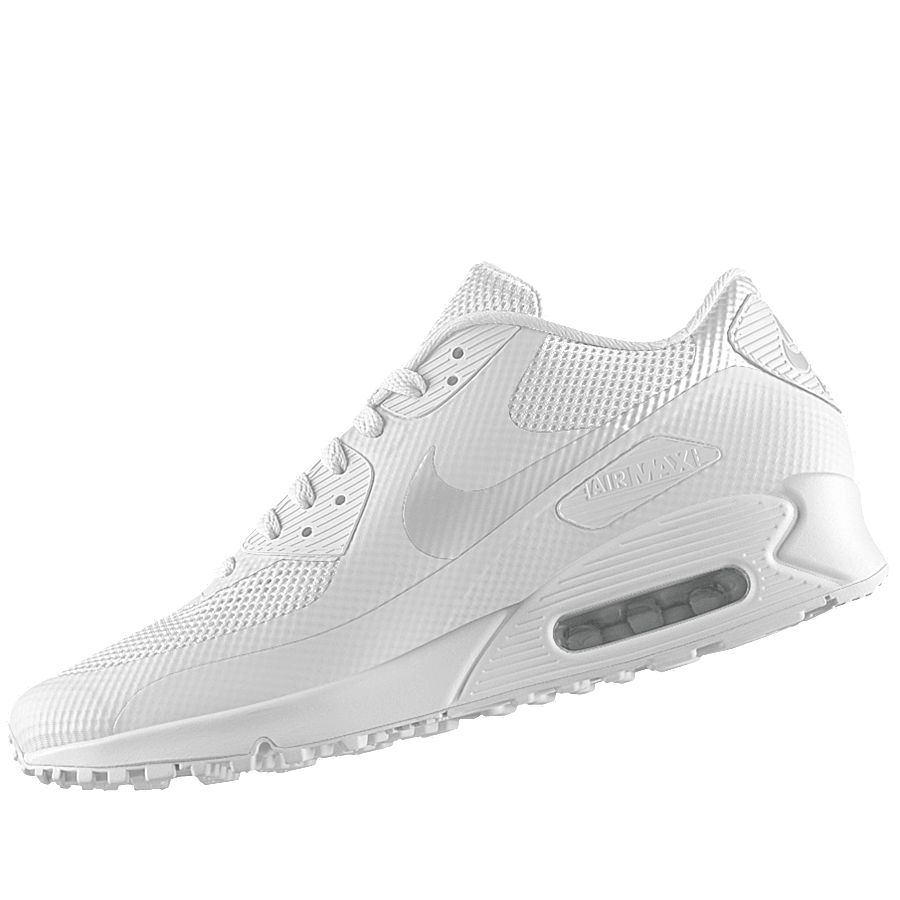 Nike Air Max 90 Hyperfuse Triple White ID