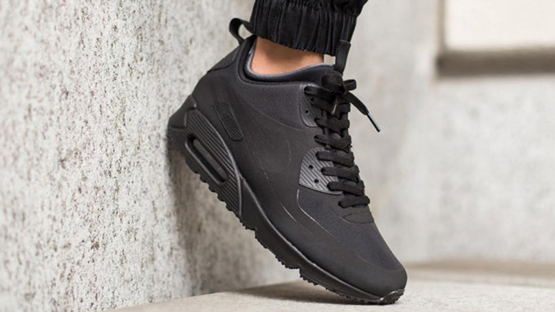 Nike Air Max 90 Mid Winter Black - Where To Buy - 806808-002 | The
