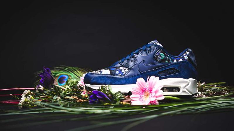 air max 90 fiori