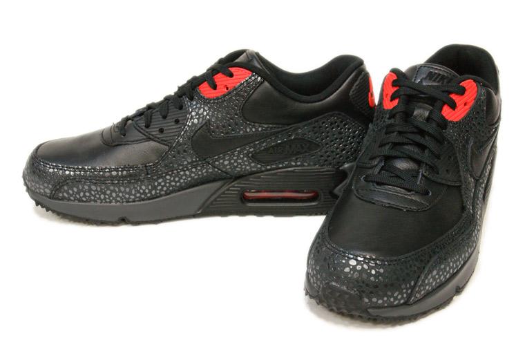 Nike Air Max 90 Deluxe 'Safari' BlackInfrared | SneakerFiles