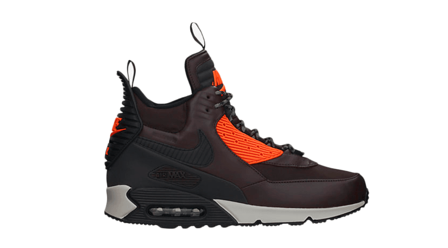 Nike Air Max 90 Sneakerboot Winter Velvet Brown Black 684714