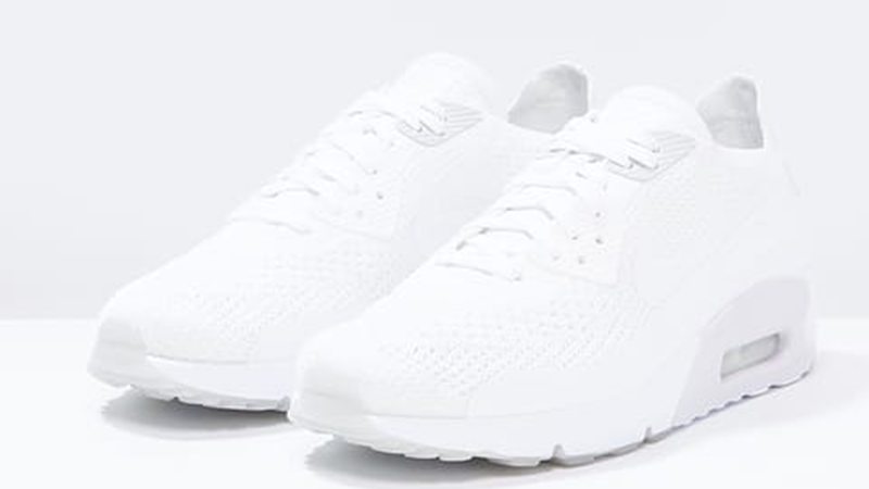 NIKE AIR MAX 90 ULTRA 2.0 WHITE FLYKNIT