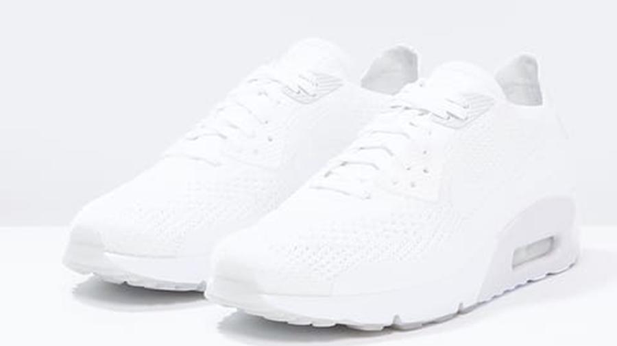 exterior Derecho Enjuiciar  Nike Air Max 90 Ultra 2.0 Flyknit Triple White - Where To Buy - TBC | The  Sole Supplier
