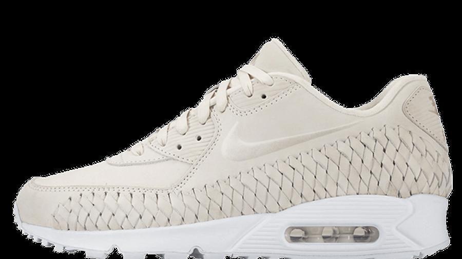 Nike Air Max 90 Woven Phantom White   Where To Buy   833129-002 ...