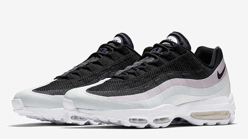 nike air max 95 ultra se black and white