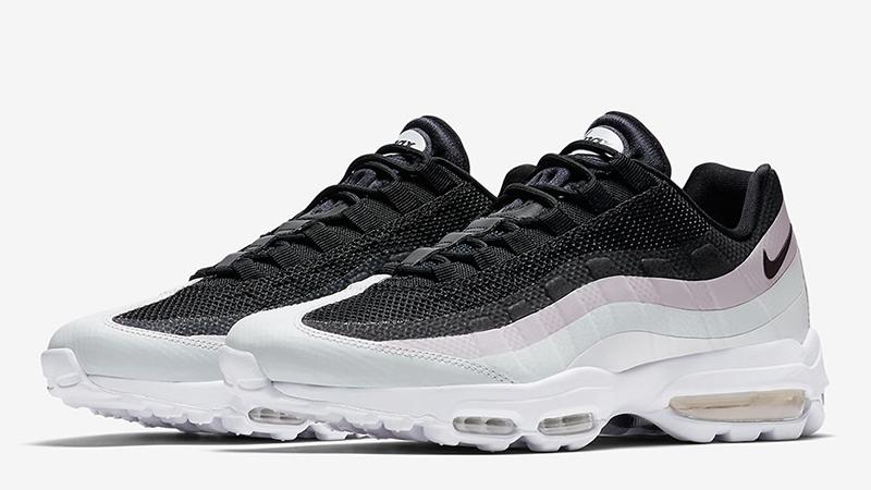 Nike Air Max 95 Ultra Black White Pink 857910 009 Sneaker