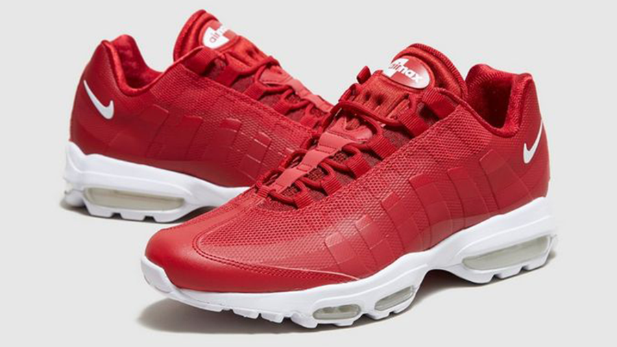 Nike Air Max 95 Ultra Essential Deep Red | Where To Buy | 857910 ...