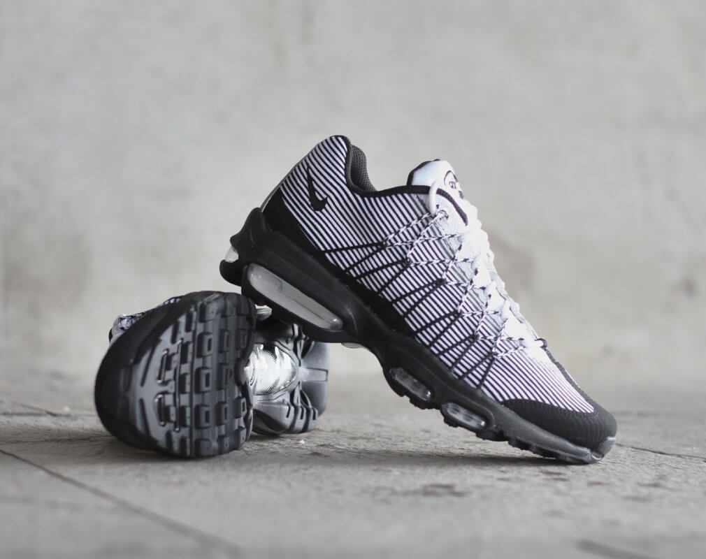unique design new collection clearance prices Nike Air Max 95 Ultra Jacquard Black White - Where To Buy - 749771 ...