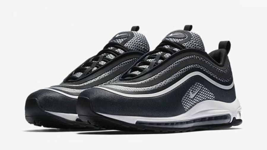 Redada feo Independencia  Nike Air Max 97 Ultra 17 Black White | Where To Buy | 918356-001 | The Sole  Supplier