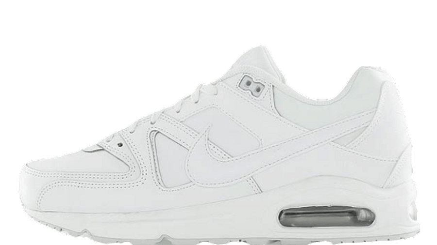 representación Ajustable Pato  Nike Air Max Command Leather White Metallic Silver | Where To Buy | TBC |  The Sole Supplier