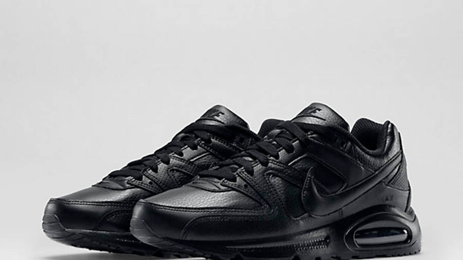 Desfiladero vitalidad Papá  Nike Air Max Command Triple Black | Where To Buy | 409998-020 | The Sole  Supplier
