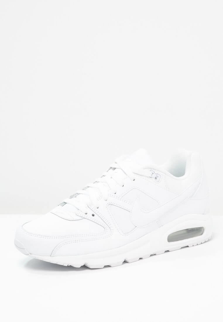 nike air max command triple white