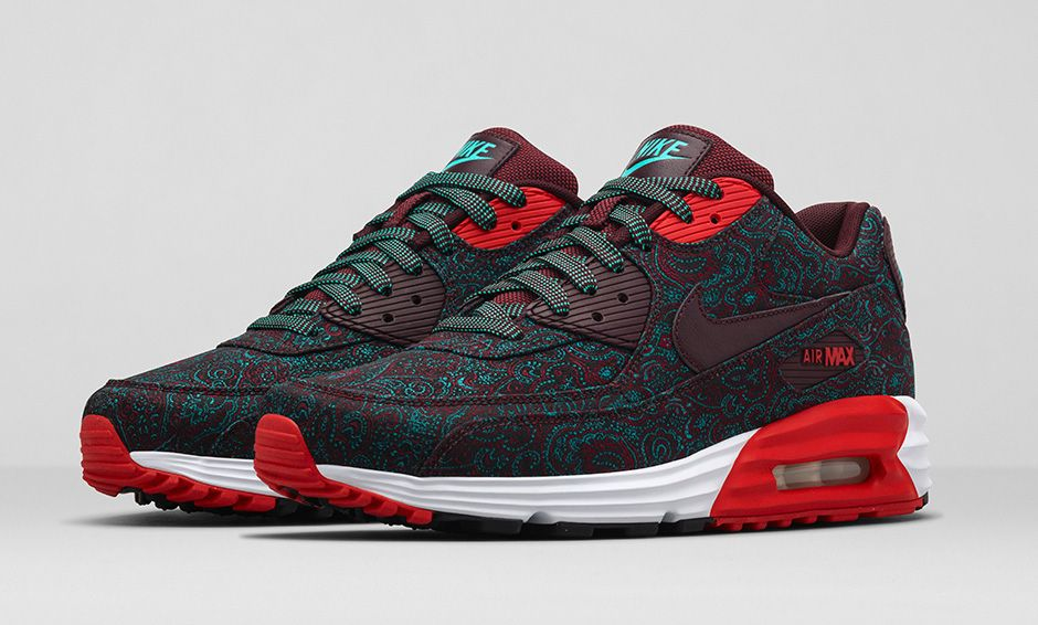 Nike Air Max Lunar 90 Suit and Tie QS Burgundy