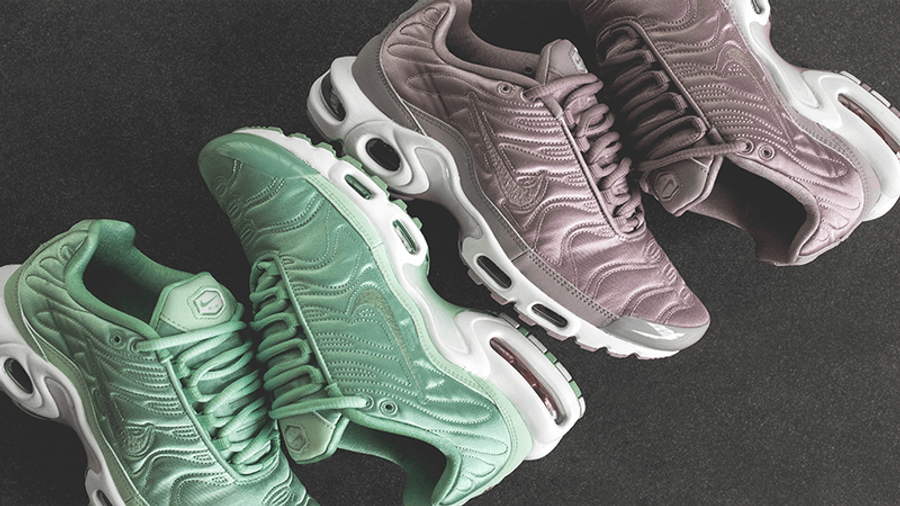 Nike Air Max Plus Satin Pack QS Enamel Green | Where To Buy | TBC ...
