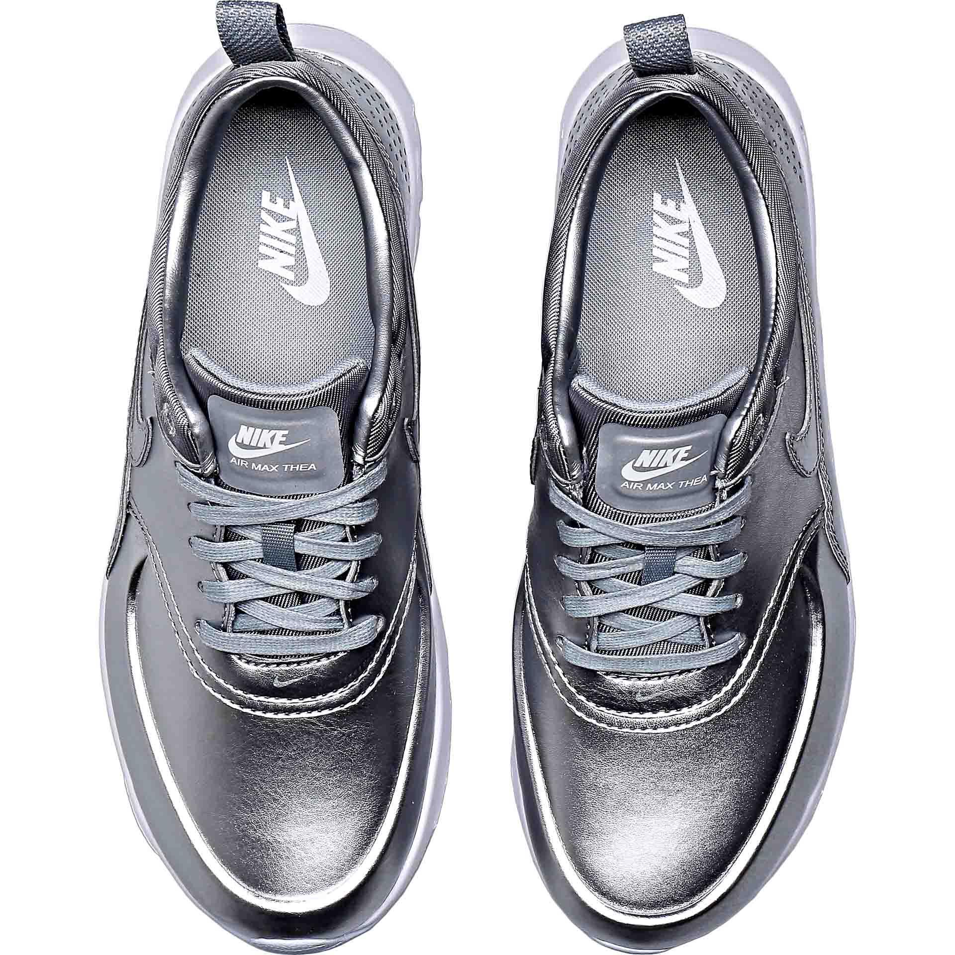 Monarquía Previsión conversacion  Nike Air Max Thea Metallic Silver | Where To Buy | 819640-001 | The Sole  Supplier