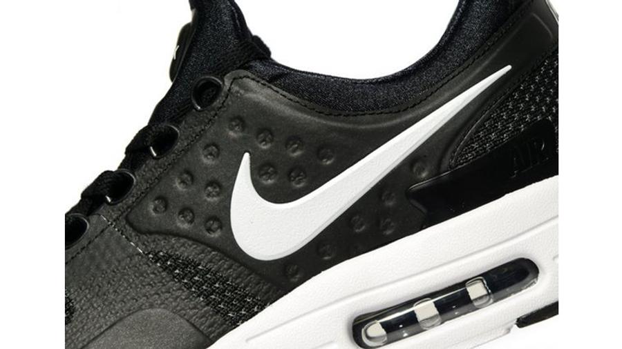 Nike Air Max Zero Black White   Where