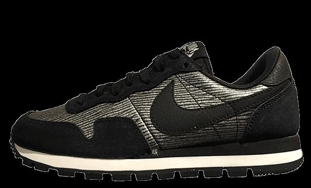 Nike-Air-Pegasus-83-Black-Silver-Reptile1