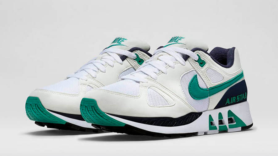 mil Melbourne Alergia  Nike Air Stab White Emerald Green   Where To Buy   315451-100   The Sole  Supplier