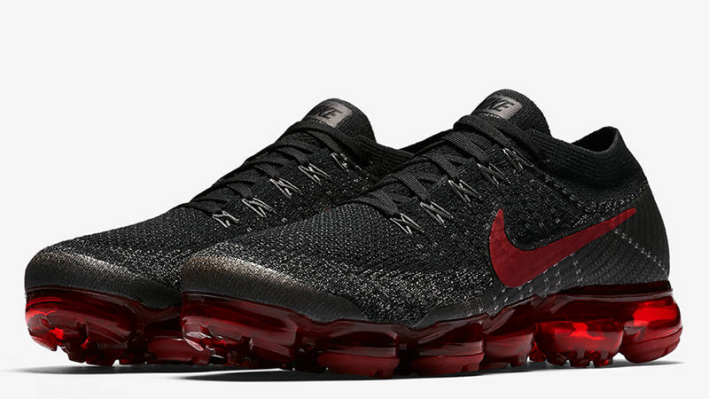 Nike Air VaporMax Black Red | Where To