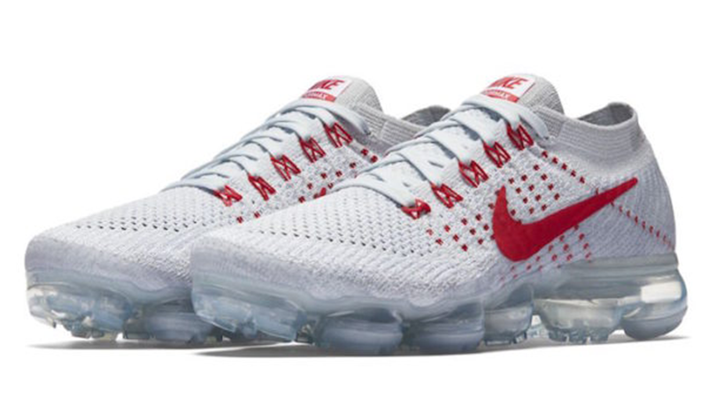 white and red vapormax