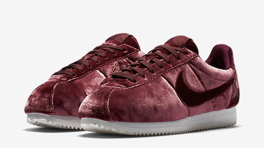 Nike Classic Cortez Premium Maroon