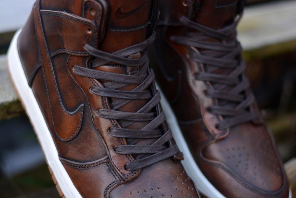 Nike Dunk High SP Burnished Leather