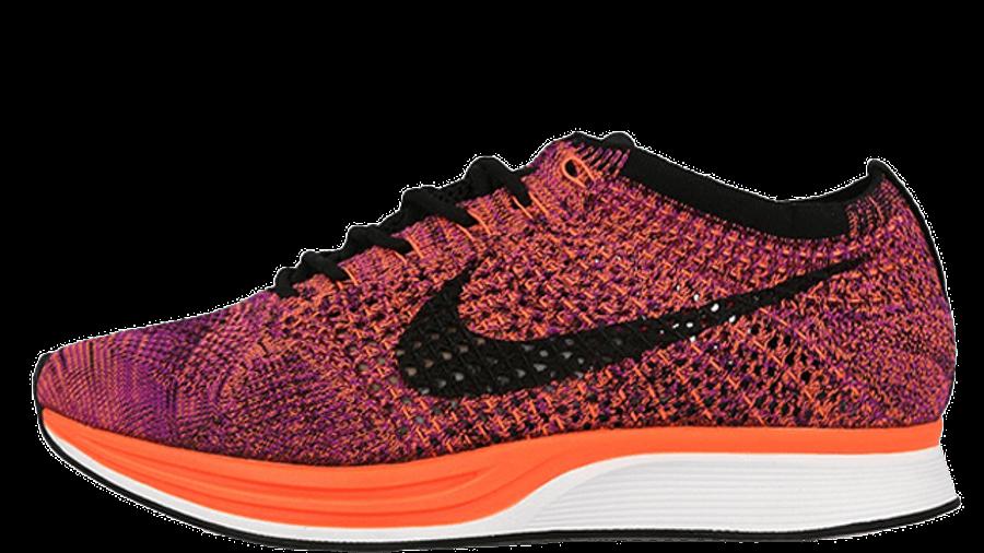 Nike Flyknit Racer Hyper Orange   Where