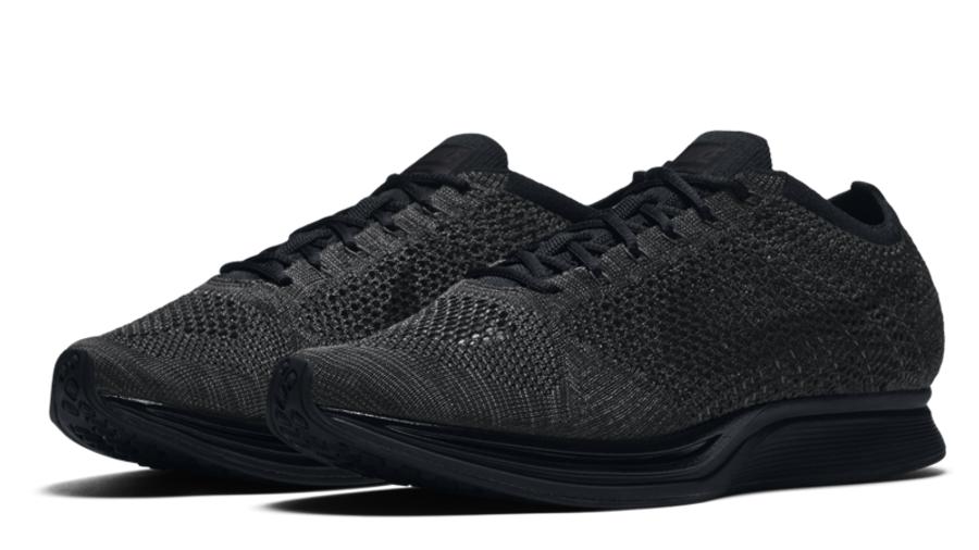 Nike Flyknit Racer Triple Black | Where