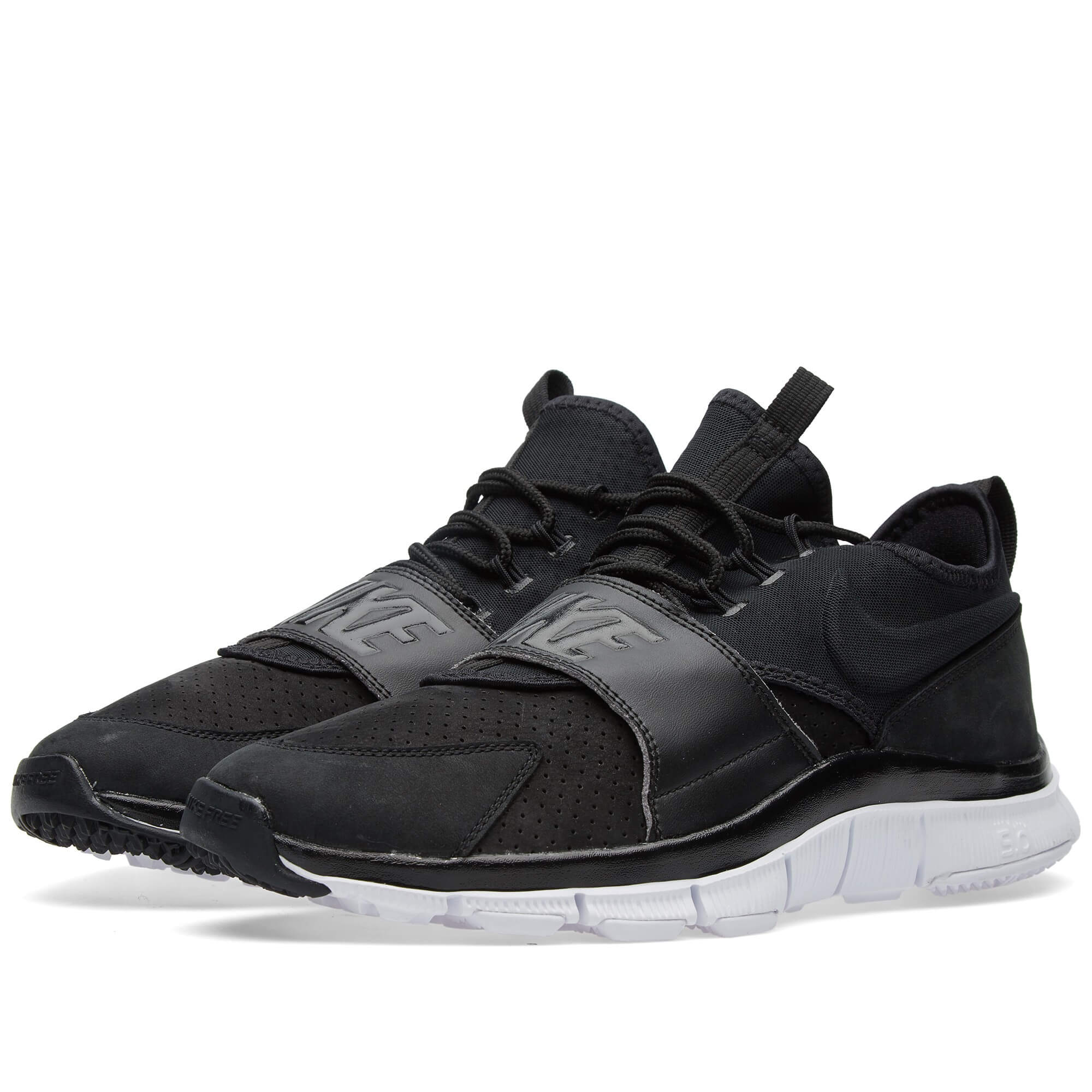Nike Free Ace Leather Black | Where To