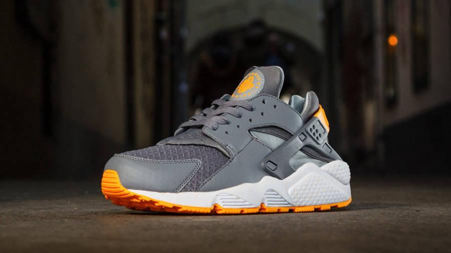 Nike Huarache Cool Grey Atomic Mango   Where To Buy   undefined ...